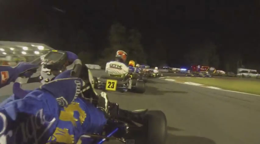Rotax Nationals 2014 Ipswich - Rotax Heavy Final